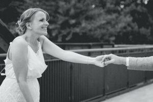 Natürliche Hochzeitsfotografie in Essen