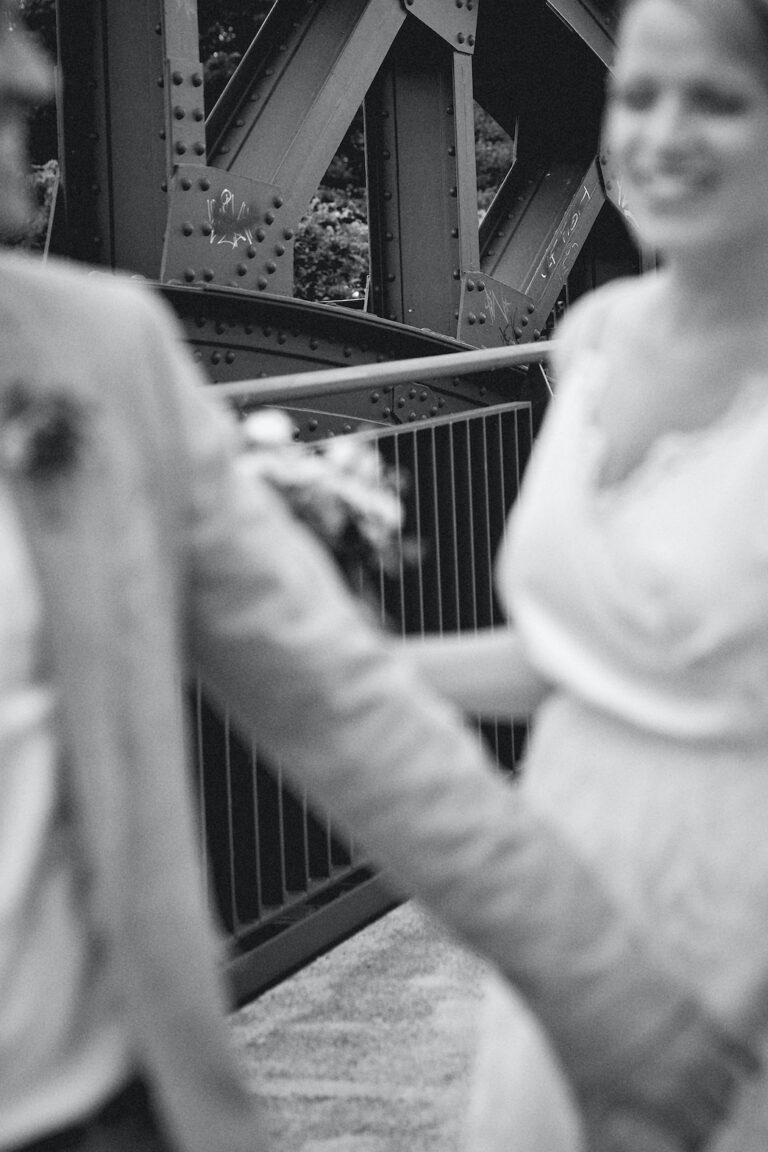 Urbane Hochzeitsfotografie in Essen